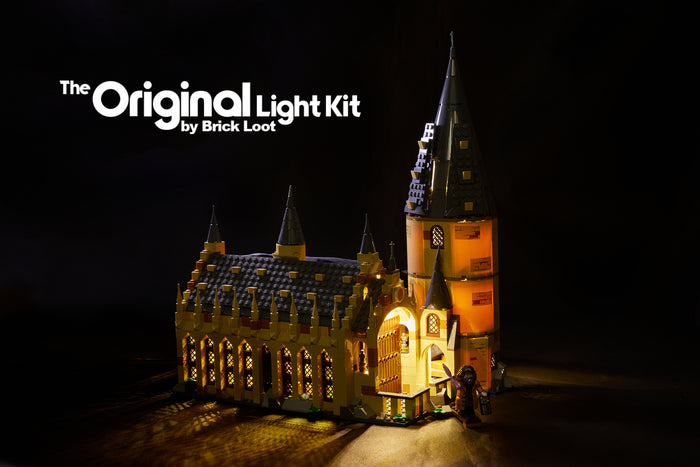 LED Lighting kit for LEGO® Harry Potter Hogwarts Great Hall 75954