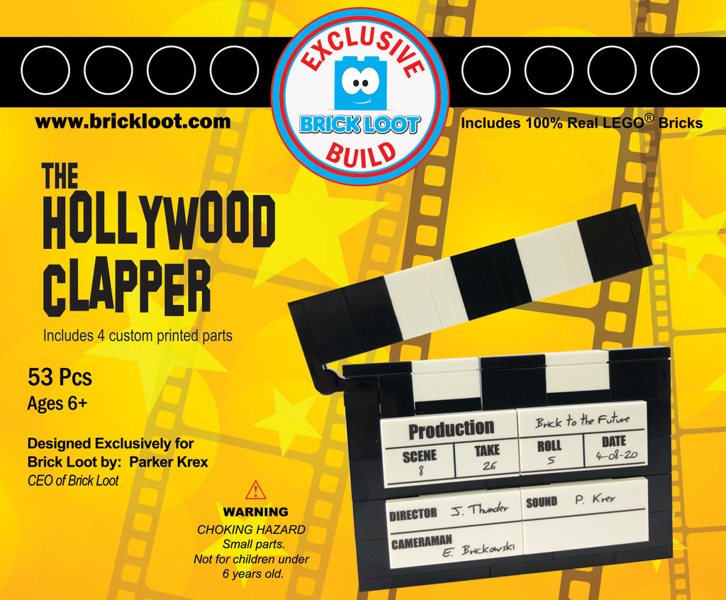 Brick-Loot-Custom-LEGO-Kit-The-Hollywood-Clapper-designed-by-Parker-Krex