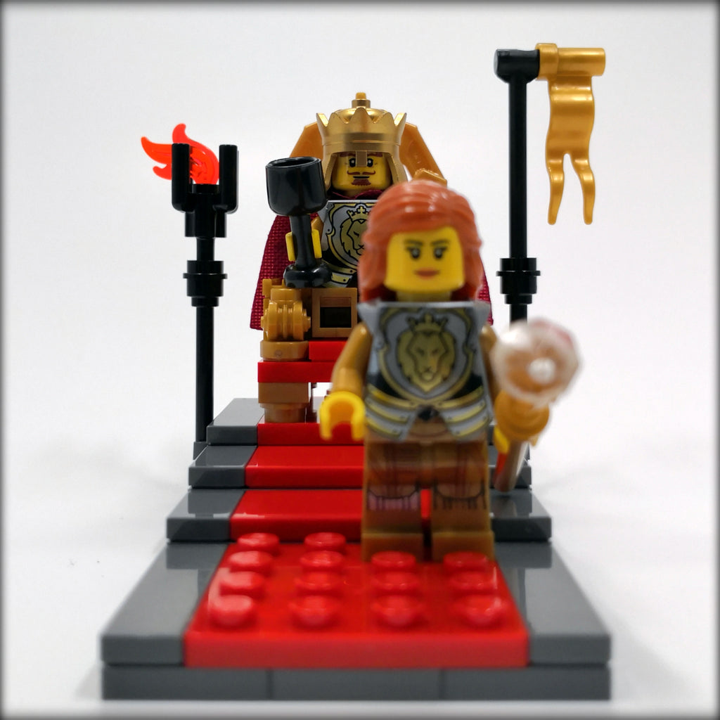 Exclusive Brick Loot Build The Throne by Aaron Newman – 100% LEGO Bricks
