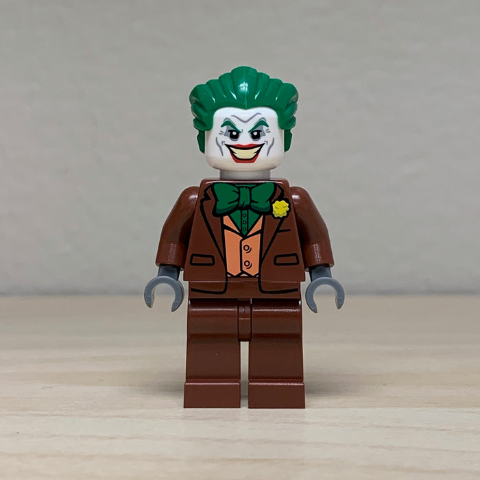 Christo Custom Pad Printed Brown Joker Minifigure on LEGO® parts - LIMITED EDITION