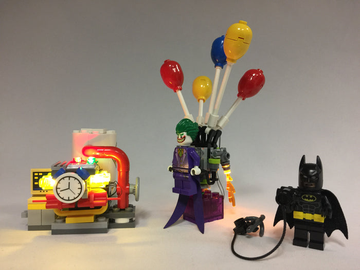 LED Lighting kit for  LEGO® Batman Movie ‑ The Joker Balloon Escape 70900