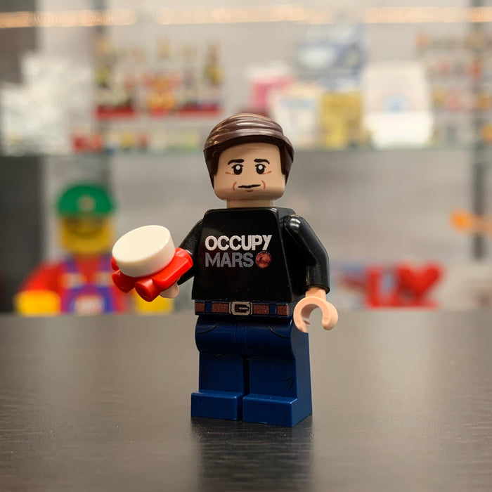 Space and Tech Innovator Custom Printed Minifigure on genuine LEGO® Parts LIMITED EDITION