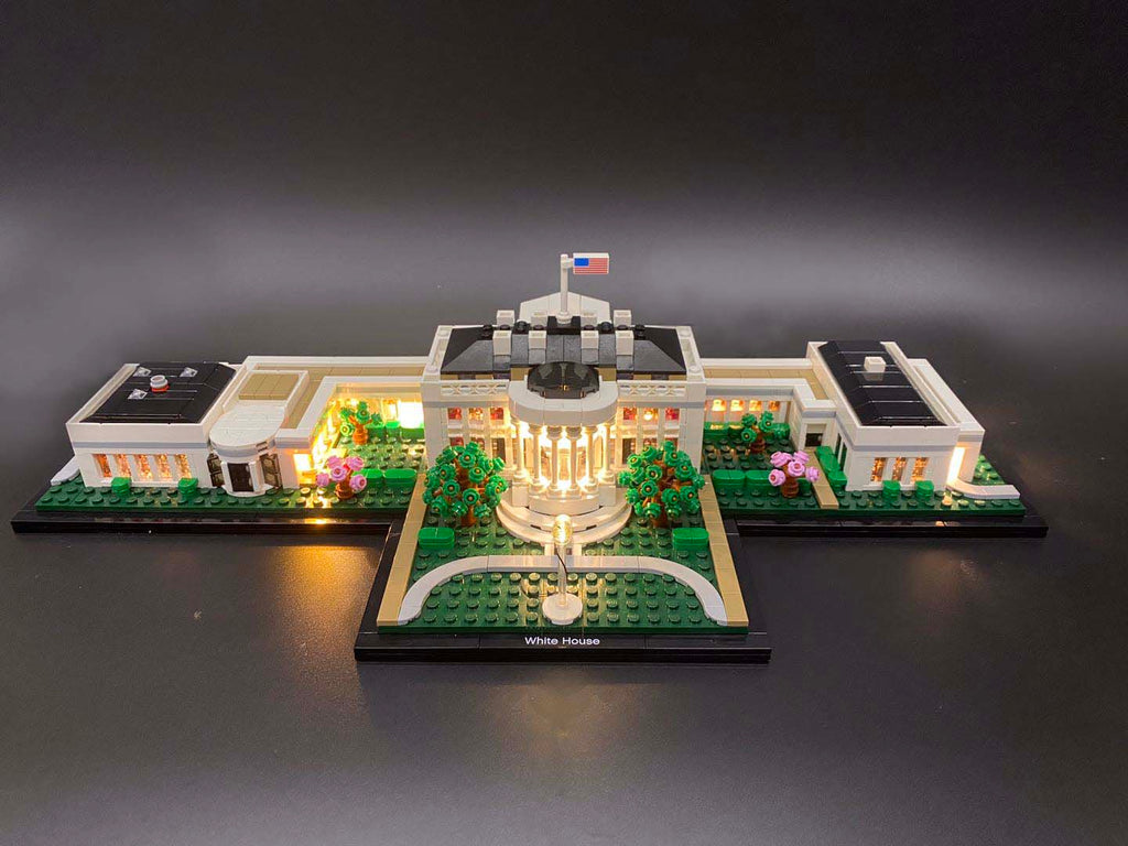 LED Lighting Kit for LEGO Architecture The White House 21054