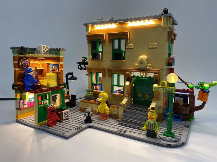 LED Lighting Kit for LEGO Ideas 123 Sesame Street 21324