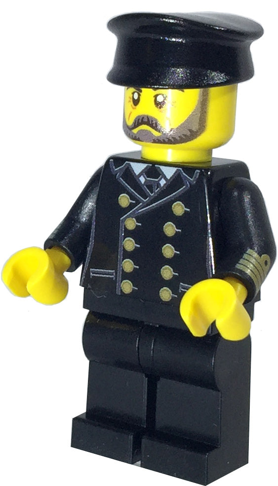 Brick Loot Exclusive Captain I.C. Berg Custom LEGO Minifigure