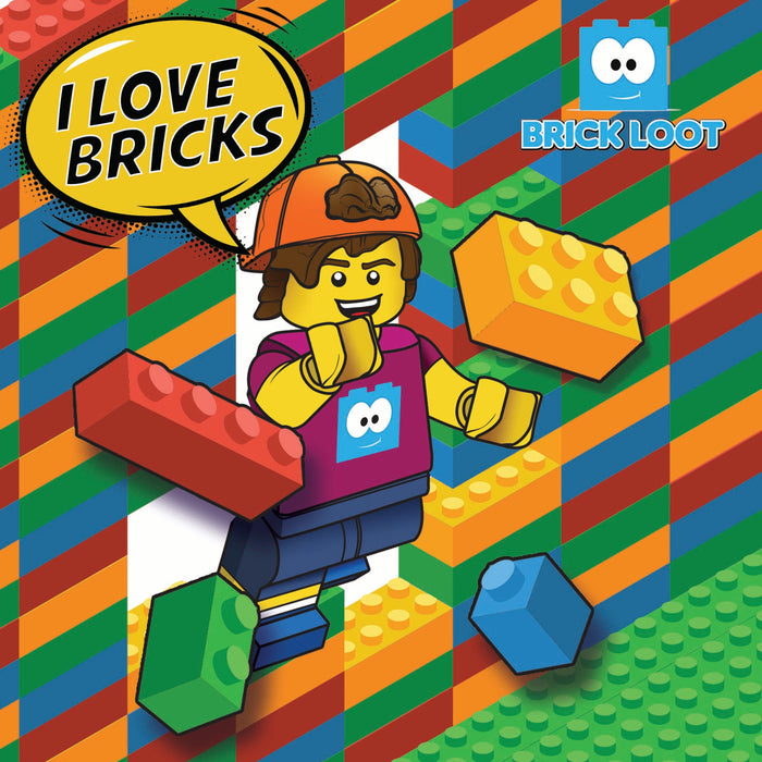Brick Loot Box  - I Love Bricks