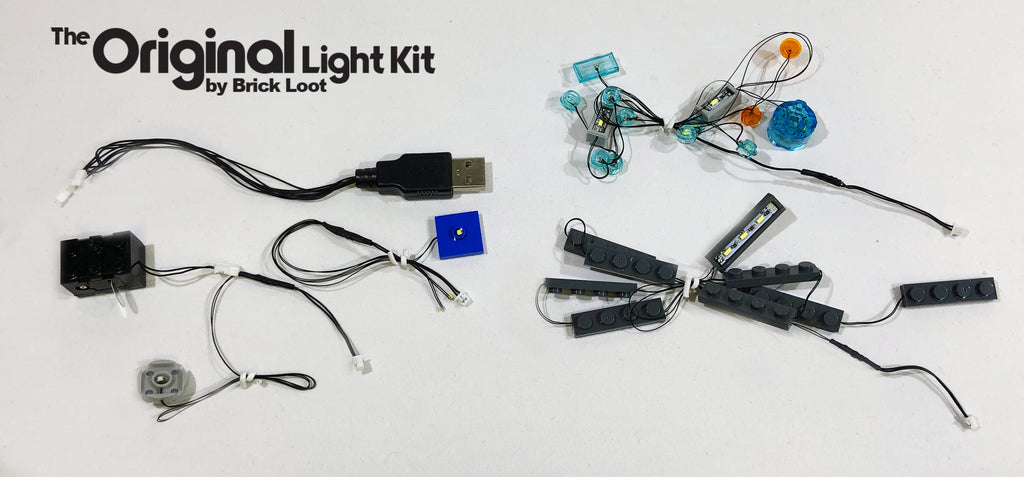 LED Lighting Kit for LEGO Iron Man Hall of Armor 76125
