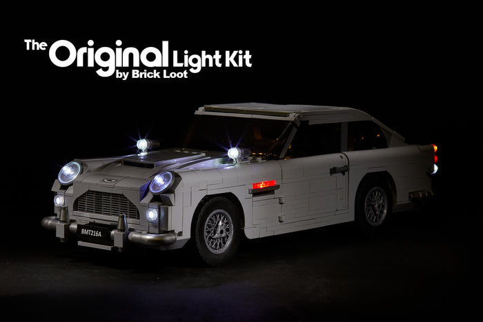 LED Lighting Kit for LEGO 10262 James Bond Aston Martin DB5