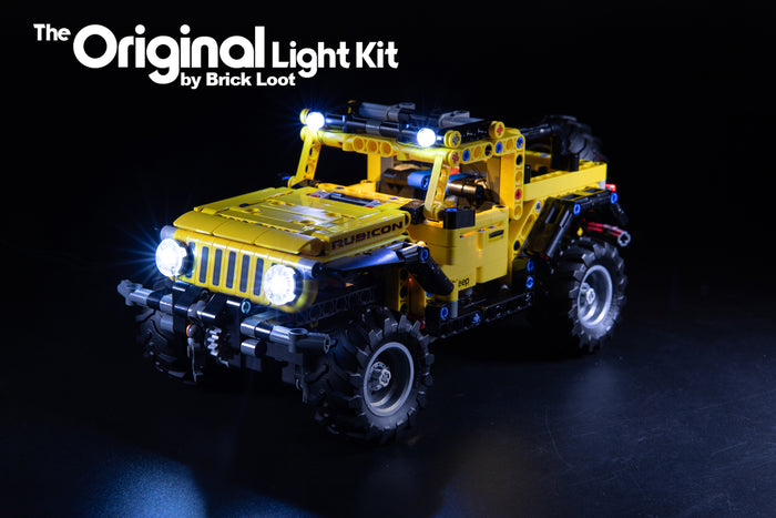 LED Lighting Kit for LEGO® Jeep Wrangler set 42122