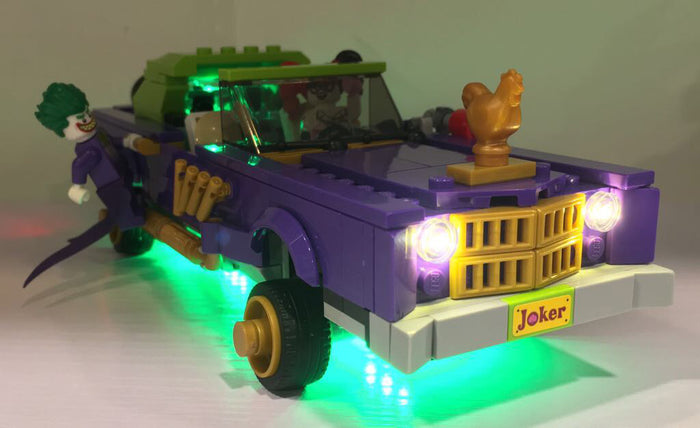 LED Lighting kit for  LEGO® Batman Movie - The Joker™ Notorious Lowrider 70906