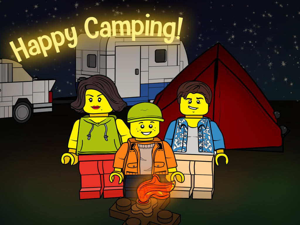Brick Loot Box  - Happy Camping