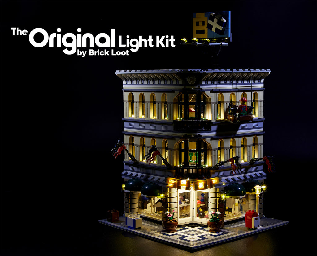 LED Lighting Kit for LEGO Grand Emporium 10211