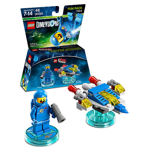 LEGO Dimensions Fun Pack - The LEGO Movie Benny 71214