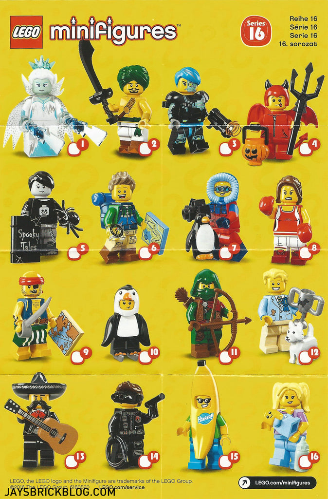 LEGO-Minifigure-Minifigures-Mystery-Bag-Series-16