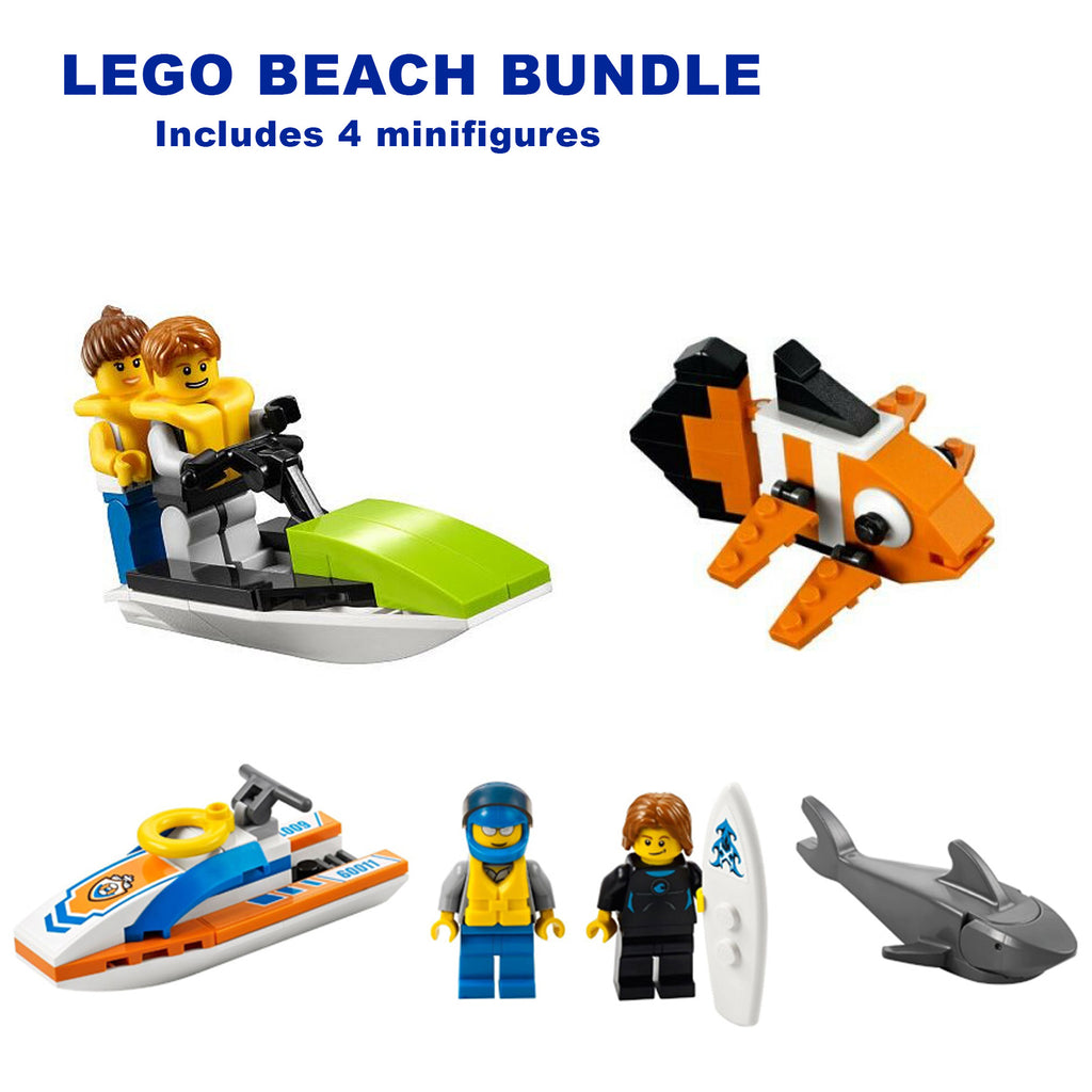 LEGO Beach Bundle (3 sets) - CEO Parker's LEGO Collection - Used LEGO Complete