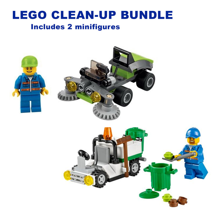 LEGO Clean-Up Bundle (2 sets) - CEO Parker's LEGO Collection - Used LEGO Complete