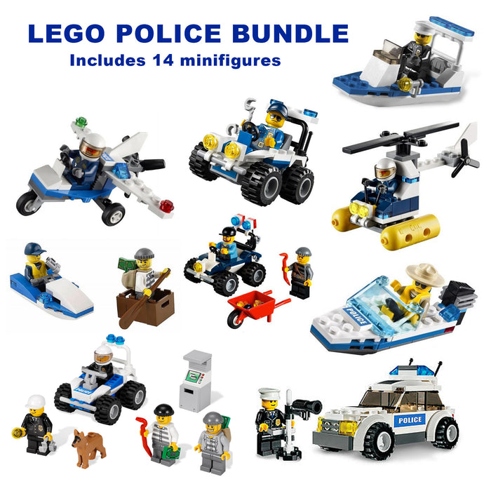 LEGO Police Bundle (9 sets) - CEO Parker's LEGO Collection - Used LEGO Complete