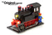 LEGO Trains 40th Anniversary set 40370 with the Brick Loot LED Light Kit.