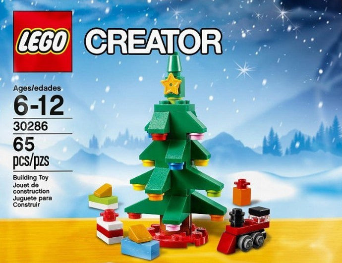 Almost Sold Out - LEGO Xmas Tree!! LEGO 30286 CREATOR Christmas Tree Bag Set