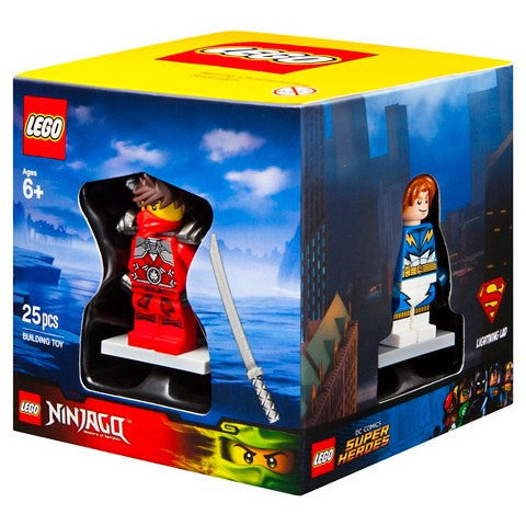 LEGO 5004077 Target 2015 Exclusive Set of 4 Minifigs Chima Ninjago Super Heroes City