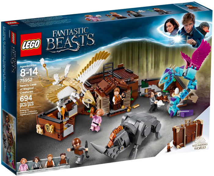 LEGO Harry Potter: Fantastic Beasts: Newt's Case of Magical Creatures set 75952