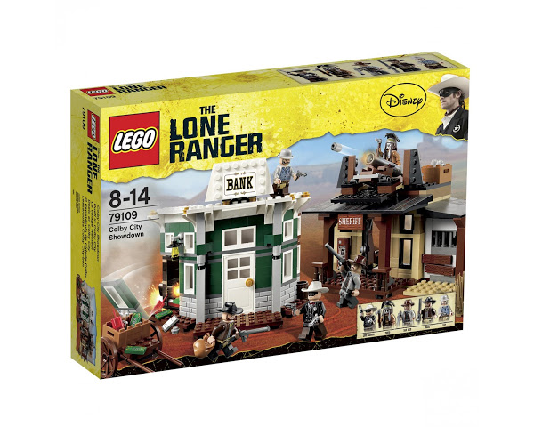 LEGO The Lone Ranger: Colby City Showdown set 79109