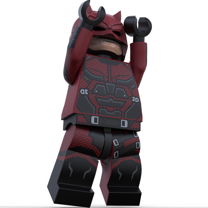 Brick Loot Exclusive Daredevil Custom LEGO® Minifigure LIMITED EDITION