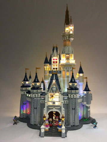 LED Lighting kit for LEGO® Disney Castle 71040 - IN STOCK