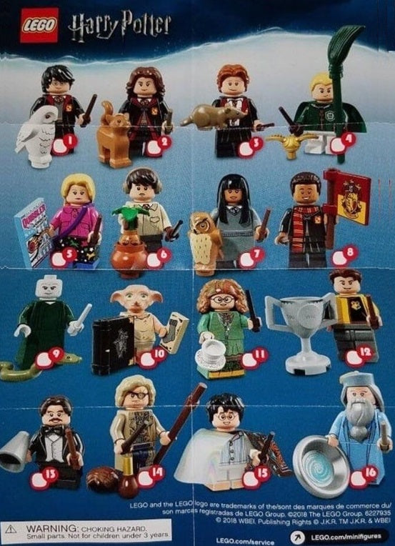 LEGO-Minifigure-Minifigures-Mystery-Bag-Series-Harry-Potter