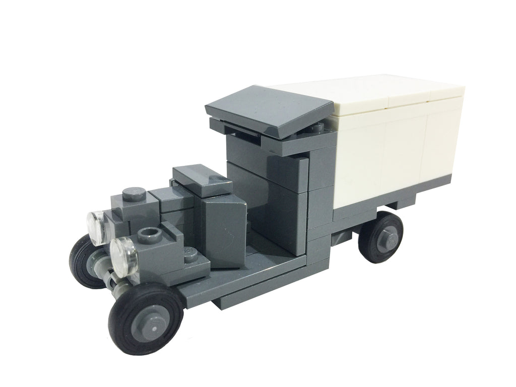 Exclusive Brick Loot Model T Ambulance by Brick Battalion - 100% LEGO