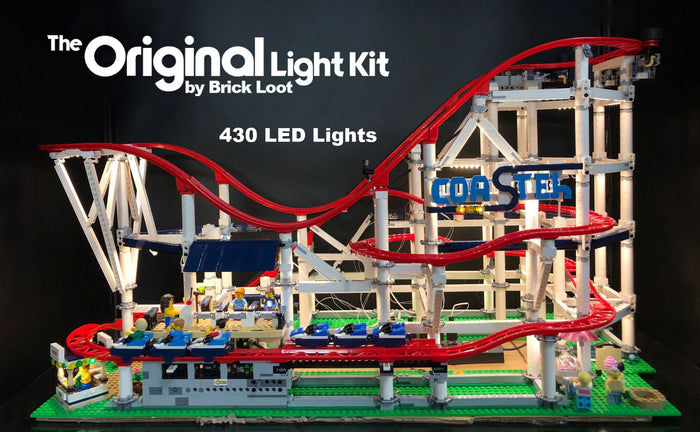 LED Lighting kit for LEGO Roller Coaster 10261