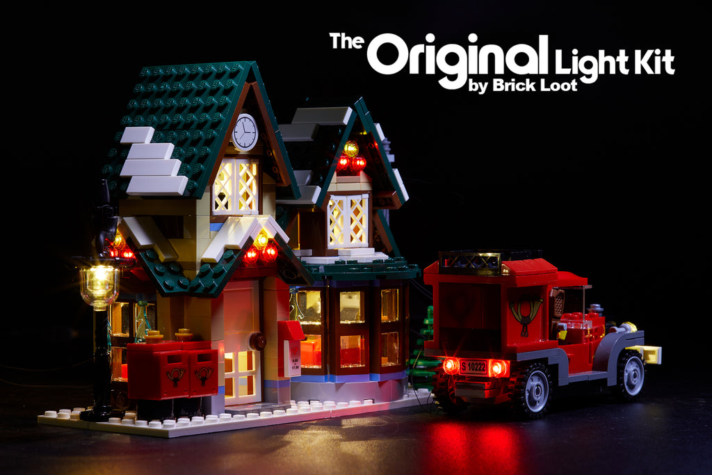 LED Lighting Kit for LEGO Winter Village Post Office 10222