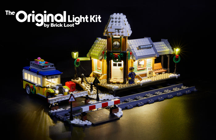 LED Lighting kit for LEGO 10259 Winter Village Station