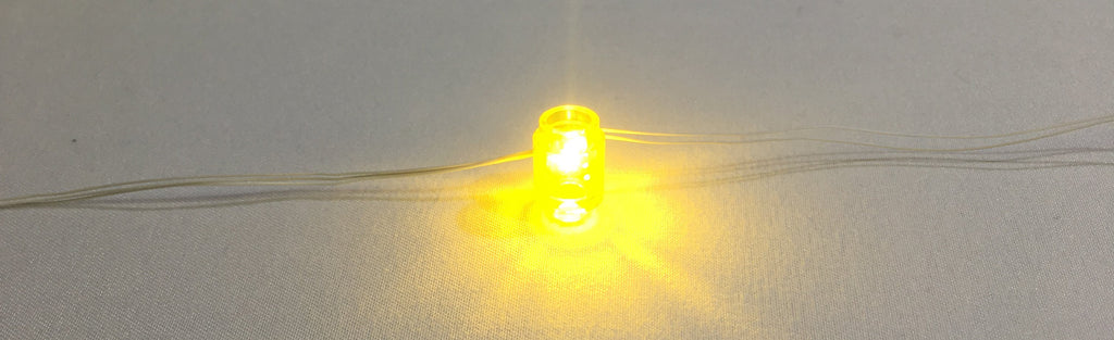 1 x 1 LED Round Brick - LIGHT LINX - Create Your Own LED String - works with LEGO bricks - by Brick Loot