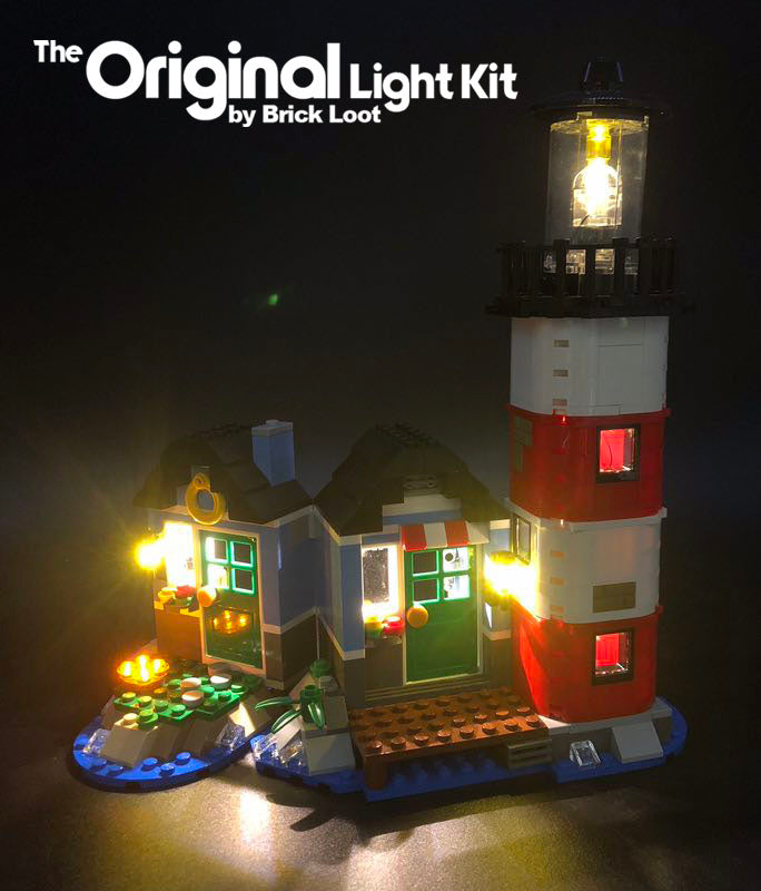 LED Lighting Kit for LEGO Creator Lighthouse Point 31051