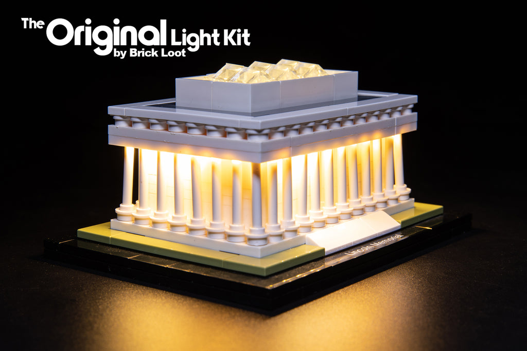 LED Lighting Kit for LEGO Architecture Lincoln Memorial 21022