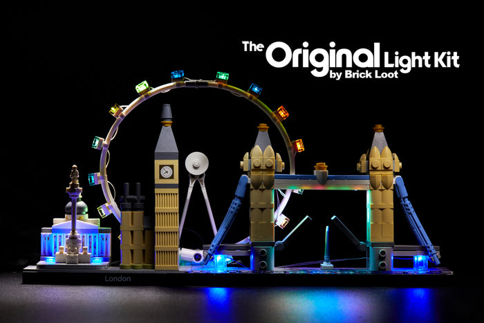 LED Lighting kit for LEGO 21034 Architecture Skyline Collection London