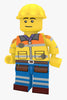 Brick Loot Exclusive Master Builder Custom LEGO® Minifigure LIMITED EDITION