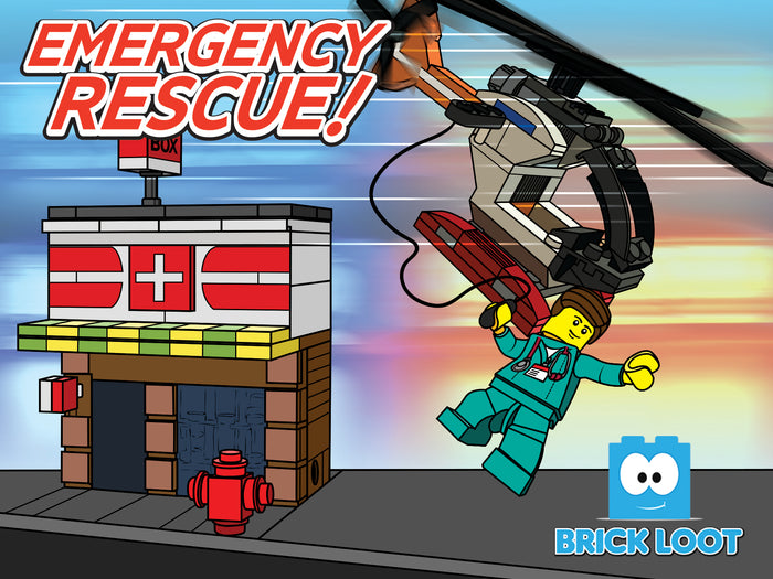 Brick Loot Box  - Emergency Rescue