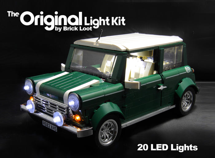 LED Lighting kit for LEGO® 10242 Mini Cooper