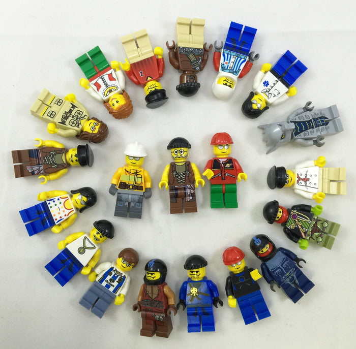 10 PACK of NEW LEGO Minifigures - Random! Our choice - no duplicates!