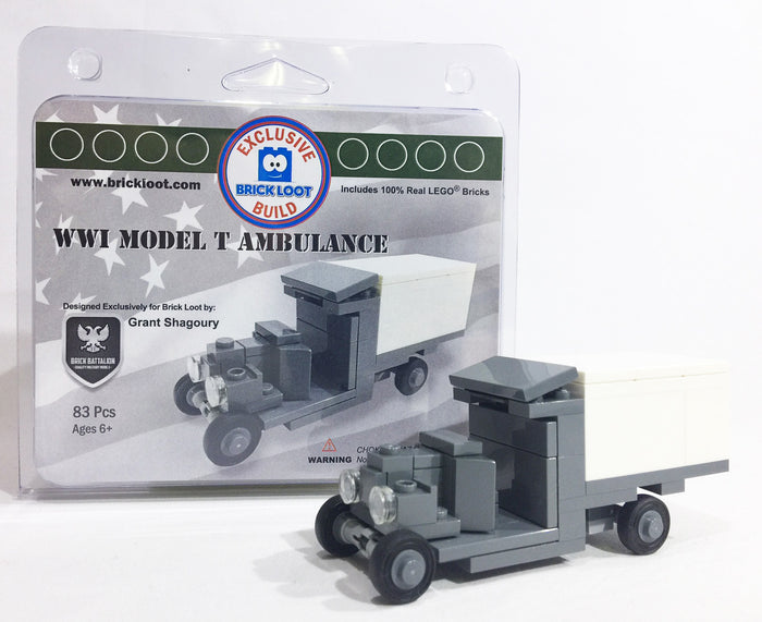 Brick-Loot-Exclusive-Build-WW1-Model-T-Ambulance-LEGO-bricks