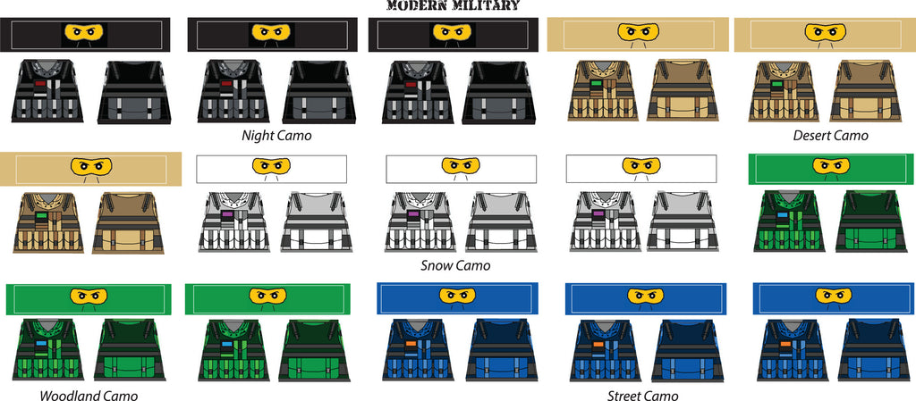 Brick-Loot-Exclusive-Minifigure-Sticker-Decal-Sheet-Modern-Military-Theme