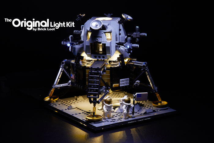 LED Lighting Kit for LEGO NASA Apollo 11 Lunar Lander 10266