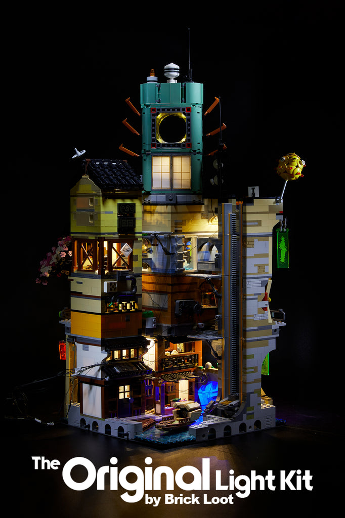 LED Lighting Kit for LEGO Ninjago City 70620