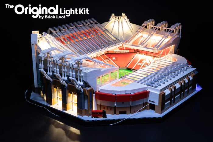 LED Lighting Kit for LEGO CREATOR Old Trafford - Manchester United set 10272