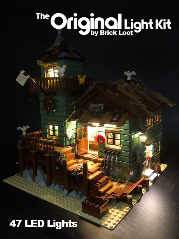 LED Lighting kit for  LEGO® Ideas Old Fishing Store 21310