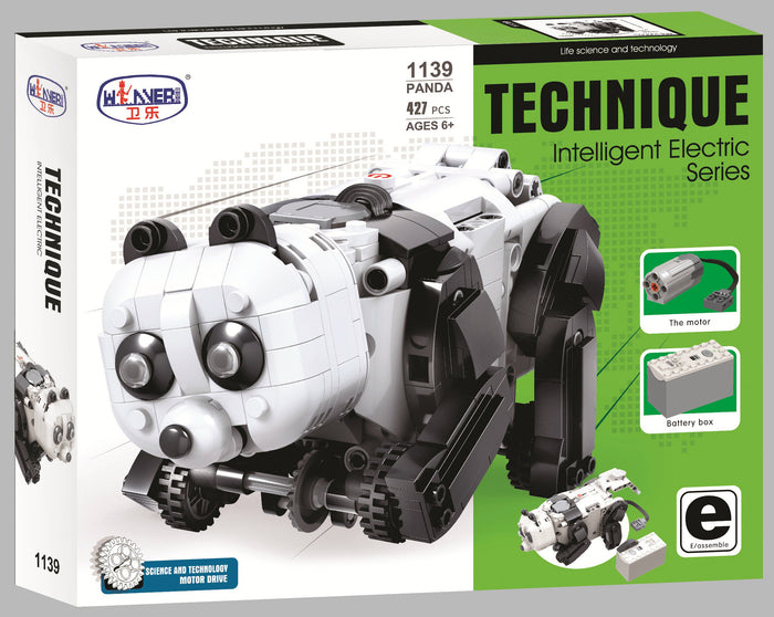 Panda Electric Building Set with Motor set 1139
