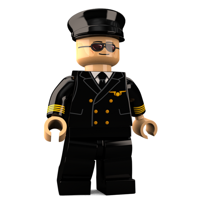 Brick-Loot-Exclusive-The-Aviator-Custom-LEGO-Minifigure