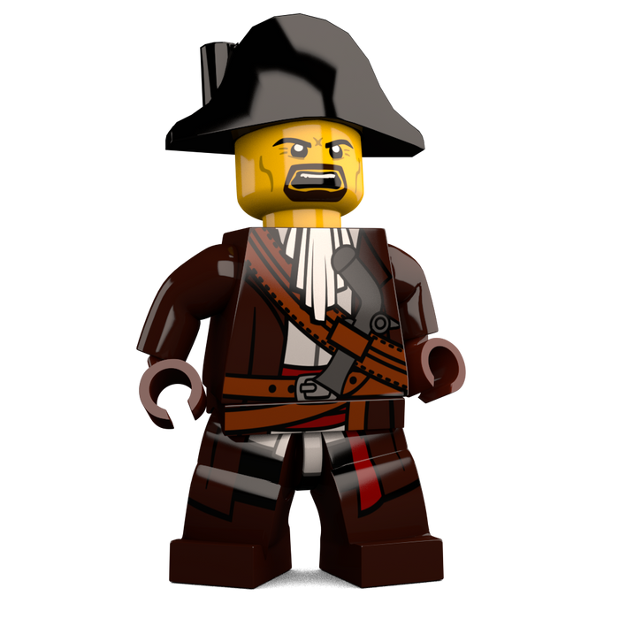Brick-Loot-Exclusive-James-Brickster-Pirate-Custom-LEGO-Minifigure